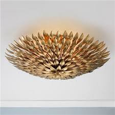 gold ceiling light fixtures gold ceiling lights welcoming spaces flush mount lighting and semi