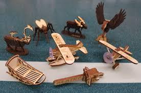caribou wood puzzle ornament the great alaskan bowl company