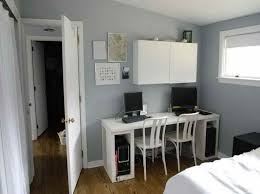 Best Office Colors Images On Pinterest Home Office Ideas And - Bedroom gray paint ideas