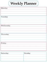 printable weekly calendar for 2018 printable weekly planner template weekly planner printable weekly