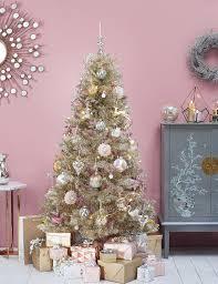 6ft gold tinsel christmas tree m u0026s