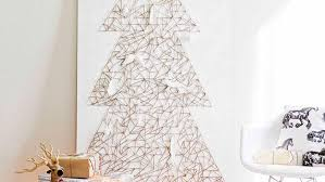 Decoration For Christmas Wall 40 diy alternative christmas trees adding fun wall decorations to