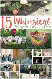 Backyard Decor Ideas 412 Best Making Homes Fun For Kids Images On Pinterest Children