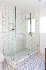bathrooms with subway tile ideas white subway tile shower illionis home