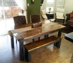 james and james tables james james 6 farmhouse table in dark walnut and black with