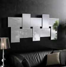 Living Room Wall Mirrors Ceres Large Modern Bevelled Wall Mirrors Decoración Pinterest