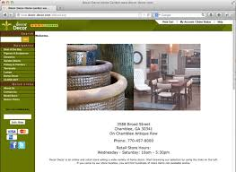 A Home Decor Store Websites