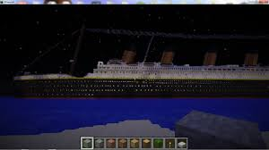 rms titanic 100 years under the sea minecraft project