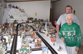 christmas villages area pair more than a invested with christmas villages