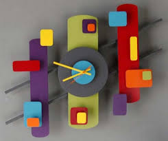 modern wall clock design retro modern wall clock design