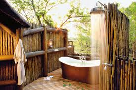 outdoor bathrooms ideas bathroom design luxury outdoor bathroom decor backyard modern