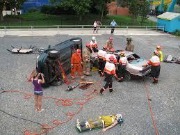 Dorney Park Halloween Haunt by Dorney Park Vehicle Rescue Demo