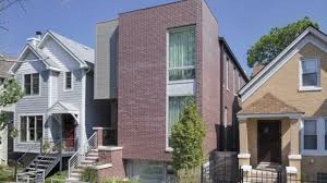 Narrowest House In Boston New Inner City Chicago House Build To Maximize Space On A Typical