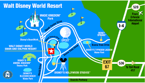 Walt Disney World Maps by Walt Disney World Swan And Dolphin