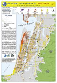 map of oregon evacuation dogami open file report publication preview o 15 02 local