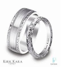 kirk kara wedding band precious platinum design gallery