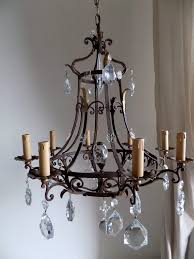 mexican wrought iron lighting chandelier chandelier wrought iron natural iron chandelier