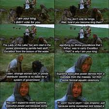 Monty Python Meme - becoming the king monty python and the holy grail