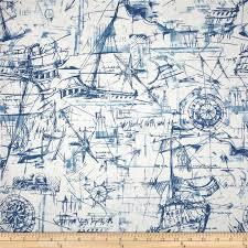 Nautical Curtain Fabric Nautical Themed Curtain Material Functionalities Net