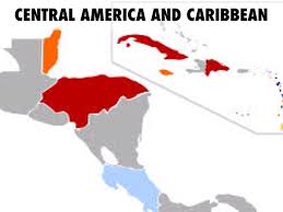 Central America And Caribbean Blank Map by Central America Caribbean By Jocelin Mendez