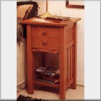 Mission Style Nightstand Plans Mission Arts U0026 Crafts Furniture Woodworking Plans I