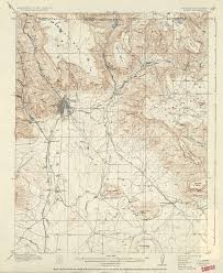 Gallup New Mexico Map by