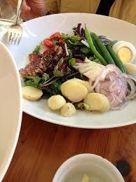restaurant cuisine nicoise nicoise salad picture of chouquet s restaurant san francisco