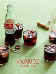 kalimotxo cocktail recipe spoon fork bacon