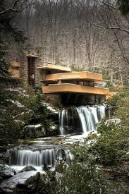 frank lloyd wright waterfall falling water house by frank lloyd wright love love love the