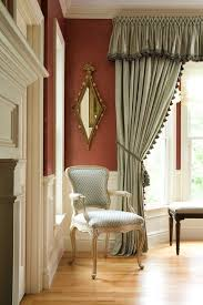 Victorian Dining Chairs Boston Drapes For Bay Family Room Victorian With Wall Decor