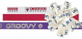 ribbons and bows custom printed ribbons bows
