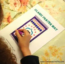 karima u0027s crafts islamic placemat and worksheets 30 days of