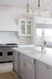 white kitchen cabinets grey island 25 ways to style grey kitchen cabinets