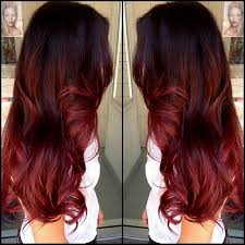 best hair red hair doos 2015 how to dip dye your hair at home with three different of hair