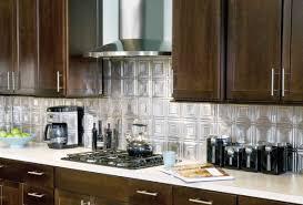 Stainless Steel Kitchen Backsplash With Shelf Kitchen Backsplash Stamped Inspirations Also Enchanting Stainless