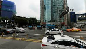 incheon airport bus 6001 from incheon airport to myeongdong seoul