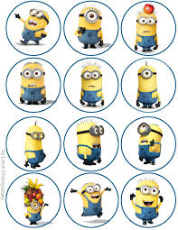 minions cake toppers cool minions topper for cupcakes despicable me it s an