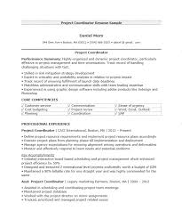 Sample Project Coordinator Resume by 16 Free Samples Project Coordinator Resumes U2013 Sample Resumes 2016