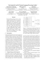 the stanford corenlp natural language processing toolkit pdf