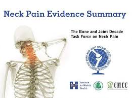 neck evidence summary institute for work health
