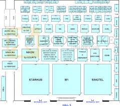 Map Floor Plan Floor Plan Map Hall 5 Singapore Expo Pc Show 2013 Pc Show 2013