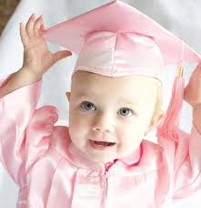 baby cap and gown baby graduation cap gown set kinder keepsakes llc