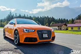 european delivery audi readers rides ty norton s solar orange rs 5 and european delivery