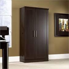 sauder homeplus basic storage cabinet dakota oak sauder homeplus storage cabinet dakota oak ebay