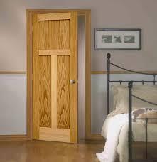 kitchen interior doors oak shaker doors