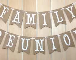 family reunion etsy