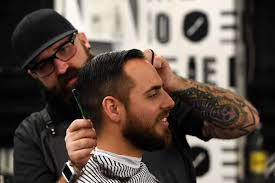not just about the cut and shave old barbershops are
