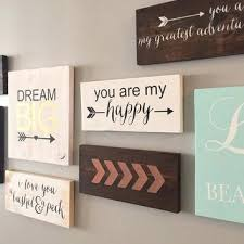 signs home decor wooden signs home decor sintowin