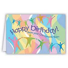 medical arts press chiropractic birthday cards happy birthday