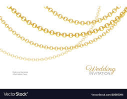 luxury necklace images Gold chain necklace luxury jewelry background vector image jpg